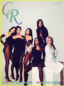 Kylie & Kendall Jenner Join Their Siblings in 'CR Fashion Book'!