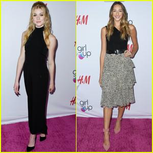 Katherine McNamara & Ava Michelle Get Inspired at Girl Up #GirlHero Awards