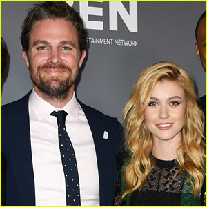 Katherine McNamara & Stephen Amell Will Share Scenes in Upcoming 'Crisis on Infinite Earths' Arrowverse Crossover