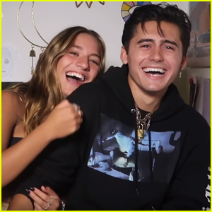 Kenzie Ziegler Does the Girlfriend Tag With Isaak Presley - Watch!