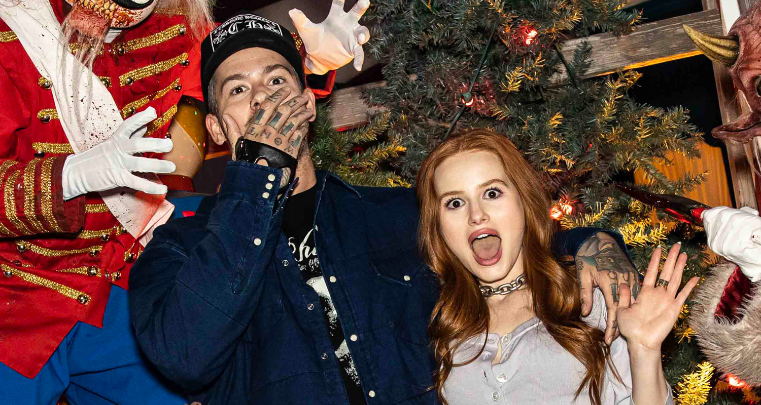 Madelaine Petsch Shares 'Scariest Night of My Life' Vlog From Halloween Horror Nights