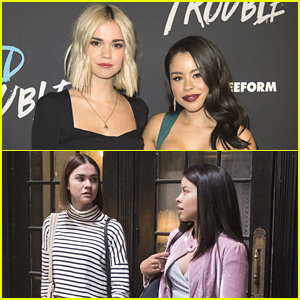Maia Mitchell & Cierra Ramirez Dress Up As Each Other's Good Trouble Characters for Halloween!