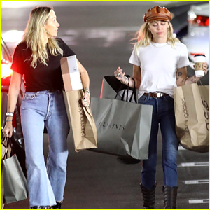 Miley Cyrus Steps Out for a Shopping Spree With Her Mom Tish