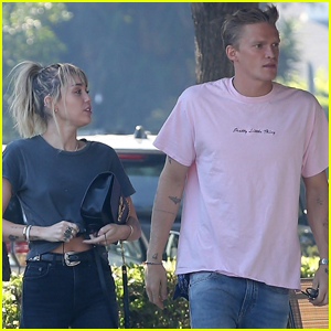 Miley Cyrus & Cody Simpson Grab Lunch in L.A.