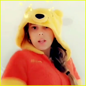 Millie Bobby Brown Dances in a Winnie the Pooh Onesie, Melts the Internet's Heart (Video)