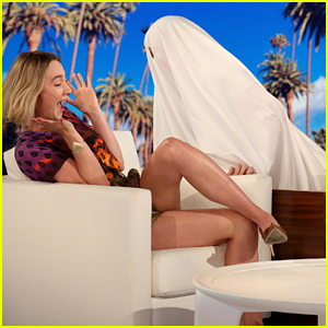 Saoirse Ronan Gets Two Big Scares During Her 'Ellen Show' Appearance