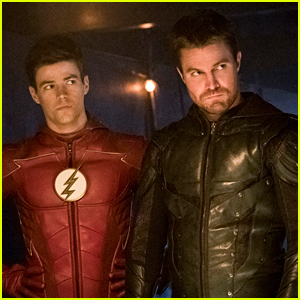 Arrowverse's Stephen Amell & Grant Gustin Just Filmed Their Last Scene Together