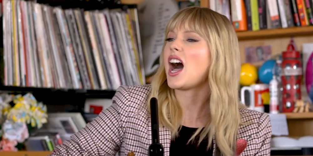 Taylor Swift Plays Acoustic Songs During NPR's Tiny Desk Concert – Watch Now!
