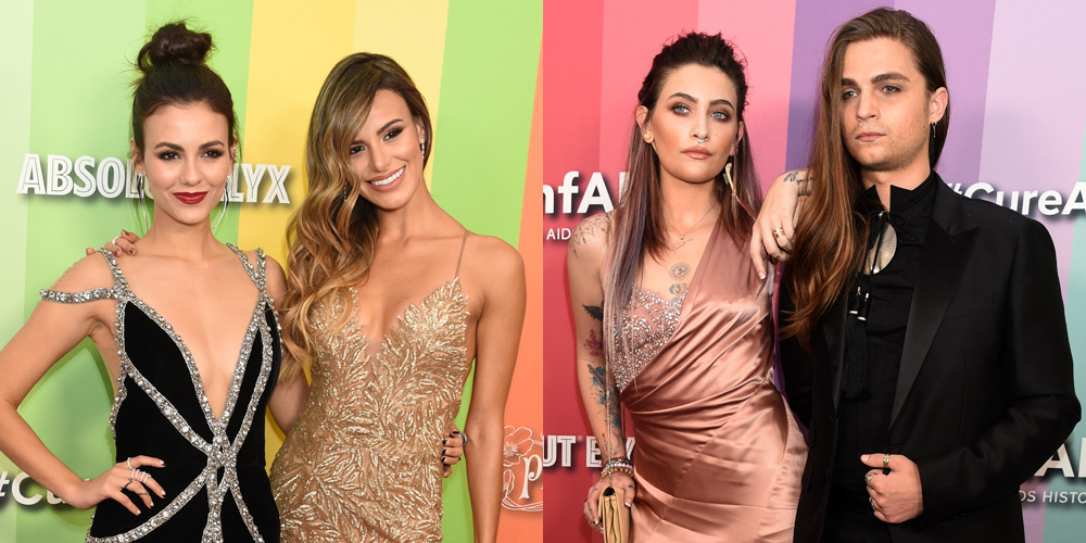 Victoria Justice & Madison Grace Were The Glammest Sisters at amfAR's Los Angeles Gala