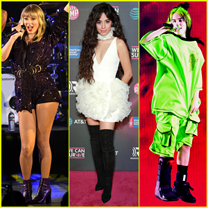 Taylor Swift, Camila Cabello, Billie Eilish, & More Perform for Good Cause at We Can Survive