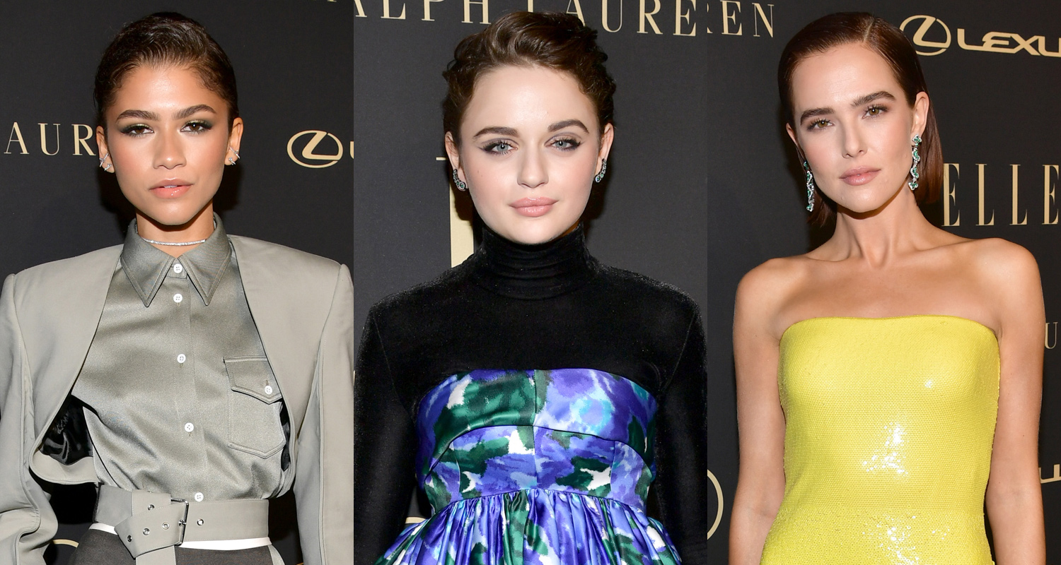 Zendaya Gets Honored at Elle's Women in Hollywood Event With Joey King & Zoey Deutch!