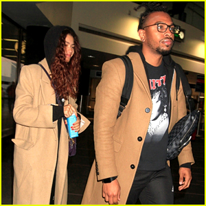 Zendaya Goes For Comfort While Catching A Flight Out of Los Angeles