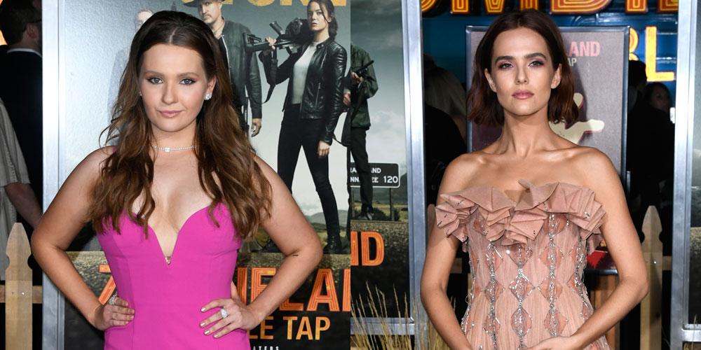 Abigail Breslin & Zoey Deutch Glam Up for 'Zombieland 2′ Premiere!
