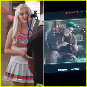 Milo Manheim & Meg Donnelly Debut First Look Footage From 'Zombies 2'!