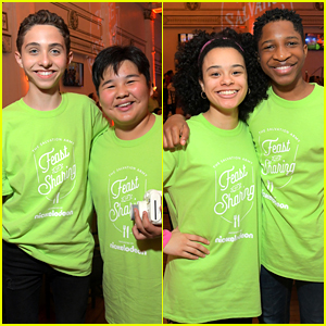 'All That' Cast Volunteer at Feast of Sharing Thanksgiving Event