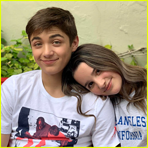 Annie LeBlanc & Asher Angel Have Cute Afternoon Date!