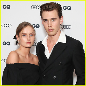 Austin Butler is Joined by 'Elvis' Co-Star Olivia DeJonge at GQ Men of the Year Awards 2019