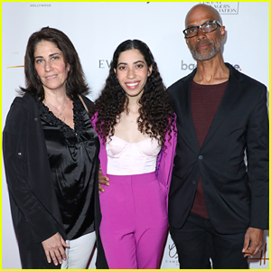 Cameron Boyce's Family - Sister Maya, & Parents Victor & Libby - Honored at Heller Awards 2019