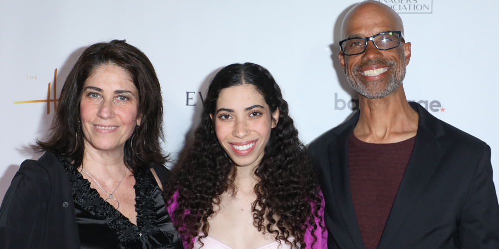Cameron Boyce's Family – Sister Maya, & Parents Victor & Libby – Honored at Heller Awards 2019