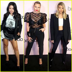 Cierra Ramirez, Sofia Richie & Alli Simpson Celebrate boohoo.com's New Holiday Collection