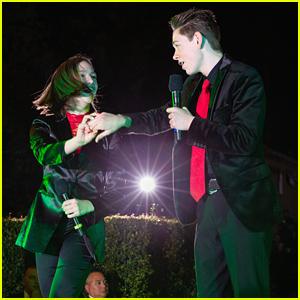 Dakota Lotus & Jayden Bartels Ring In Christmas Season at Palisades Village Tree Lighting