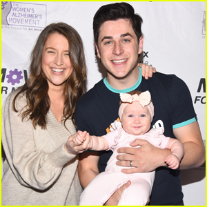 David Henrie Brings Baby Pia to Move For Minds Event!
