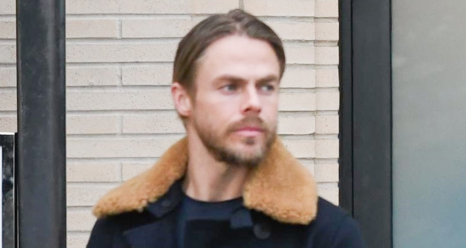 Derek Hough Jokes About Getting His Appendix Removed