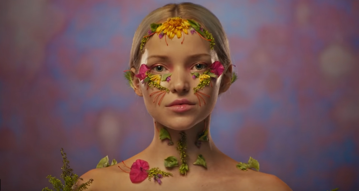 Dove Cameron Opens Up About Elaborate Floral Makeup Looks in 'So Good' Video