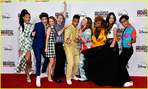 'High School Musical: The Musical: The Series' Cast Gets Silly at Premiere!