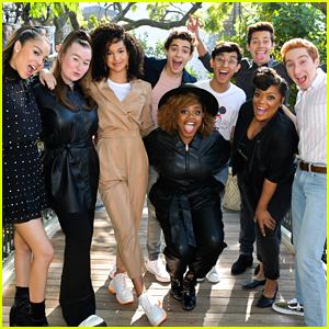 Sofia Wylie, Joshua Bassett, Dara Renee & 'HSMTMTS' Cast Celebrate Disney+ Launch Day