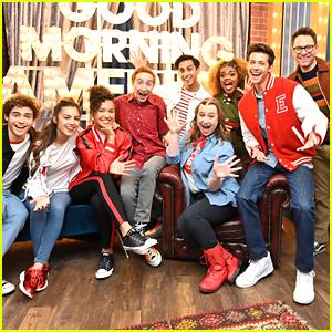 Sofia Wylie & Olivia Rodrigo Bring 'High School Musical: The Musical: The Series' To GMA
