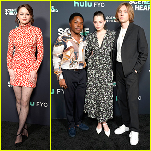 Joey King & 'Looking For Alaska' Stars Hit Up Hulu's 'Scene & Heard' SAG Event