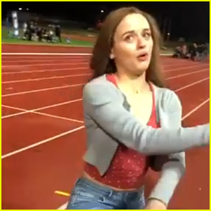 Joey King Shares Funny Behind-the-Scenes Footage From 'Kissing Booth 2' (Video)