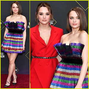 Joey King Brings an Array of Colors to the People's Choice Awards 2019