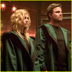 Katherine McNamara Has 'Such Respect' For Stephen Amell On 'Arrow'