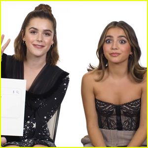Kiernan Shipka & Isabela Merced Dish On What Goes Down In Their DMs!