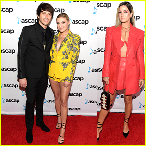 Kelsea Ballerini & Morgan Evans Couple Up at ASCAP Country Music Awards 2019!