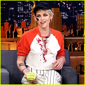 Kristen Stewart Hilariously Discusses That Time She Dropped the F-Bomb on 'SNL' (Video)