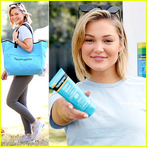 Olivia Holt Hikes To Help End Skin Cancer with Neutrogena