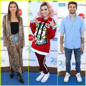 Alexa & Katie Stars Paris Berelc, Merit Leighton & Jack Griffo Have Fun at UCLA Children's Hospital's Party on the Pier
