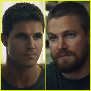Robbie & Stephen Amell Unveil 'Code 8' Trailer & Release Date!