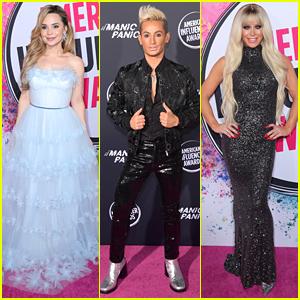 Rosanna Pansino, Frankie Grande & Gigi Gorgeous Present at American Influencer Awards 2019