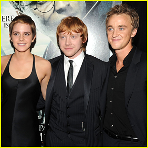 Tom Felton Calls Emma Watson a 'Lovely Young Lady' Before Rupert Grint Says There Were Sparks Between Them