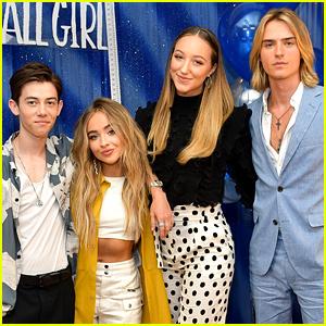 Sabrina Carpenter's 'Tall Girl' Co-Stars React to Her Savannah Film Festival Win