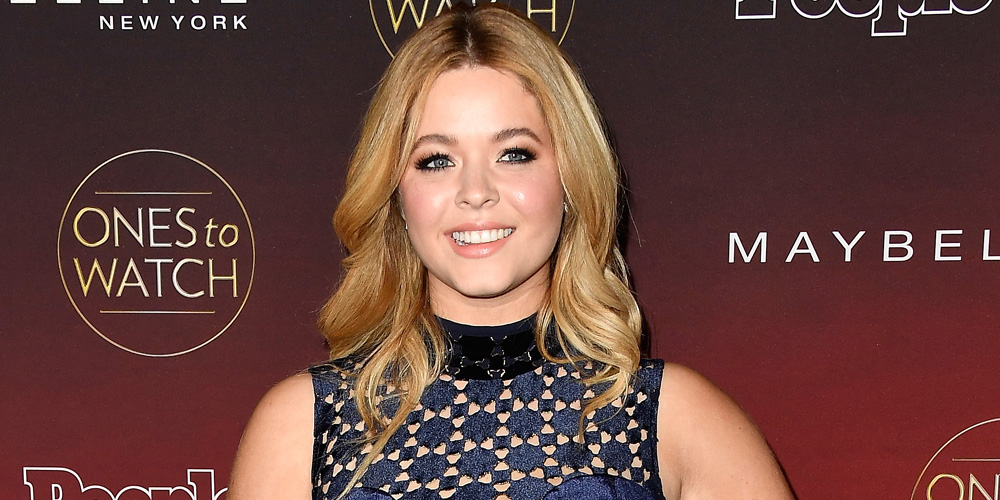 Sasha Pieterse Dresses Up As A Grown Up Ice Princess From 'Shark Boy & Lava Girl' For Halloween!