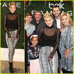 Savannah Chrisley Gets Family Support at Rampage x Savannah Chrisley Fashion Event