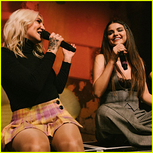 Selena Gomez Performs 'Anxiety' With Julia Michaels - Watch The Vid!