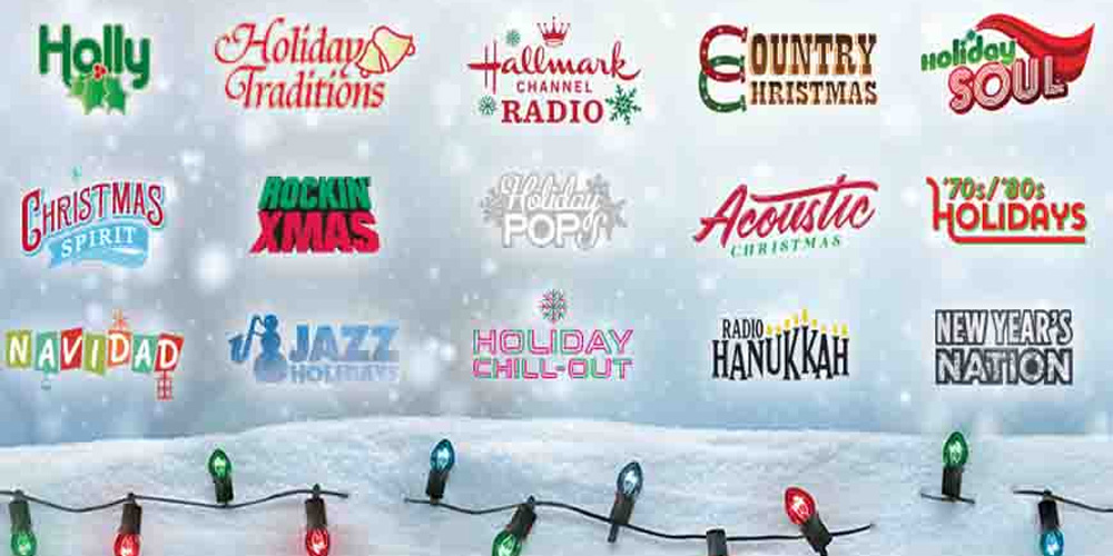 Holiday Music Channels On SiriusXM