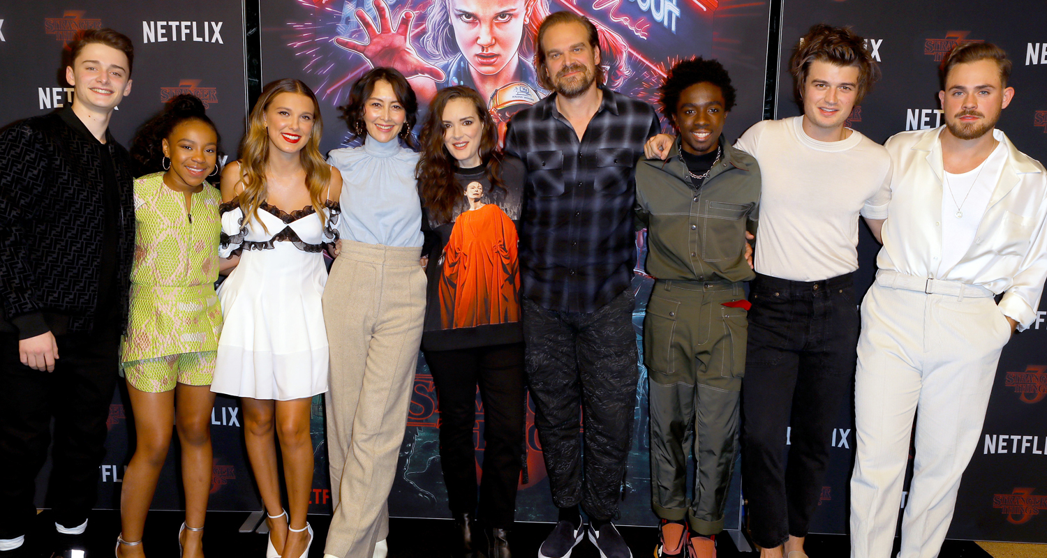 Millie Bobby Brown, Noah Schnapp & More Attend 'Stranger Things' Screening