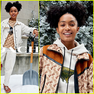 Yara Shahidi Brings Her Whole Family to the Holiday Party for Coach's New Campaign! (Video)